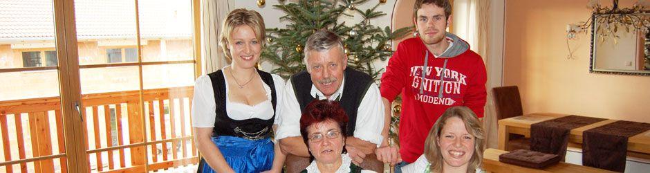 Die Familie Gasteiger bewirtschaftet den Demeter-Betrieb Anderlhof in Tinning bei Riedering